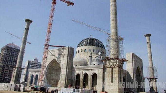 República Chechena, mezquita , Europa, Rusia