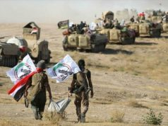 Al-Hashad Al-Shabi, Daesh, EE.UU., Israel