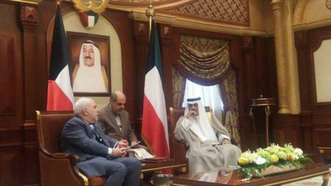 Mohammad Javad Zarif , Kuwait, Golfo Pérsico, EE.UU.