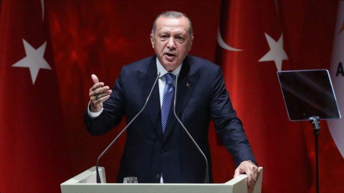 Recep Tayyip Erdogan, Turquía,Siria