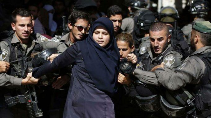 mujeres palestinas, prisioneros palestinos, Israel