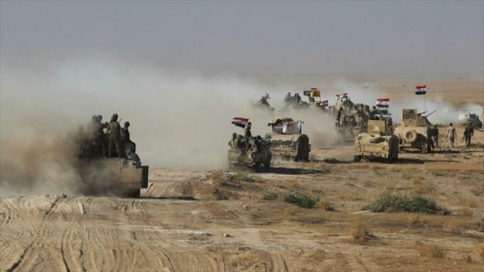 Irak, Al-Hashad Al-Shabi, Daesh