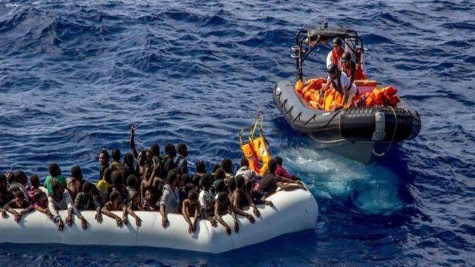 España,migrantes, mar Mediterráneo