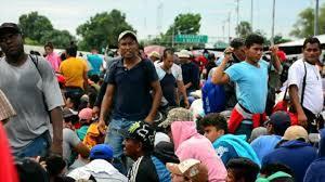 migrantes, México,