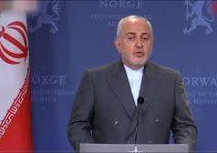 Golfo Pérsico, Iran, Mohammad Javad Zarif,Estados Unidos