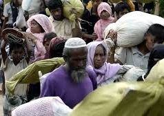 Myanmar, Bangladés, Musulmanes Rohingya