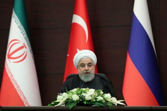Hasan Rohani, Siria, Rusia, EEUU, Turquía