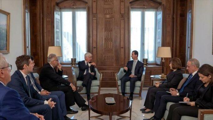 Siria, Bashar al-Asad, UE