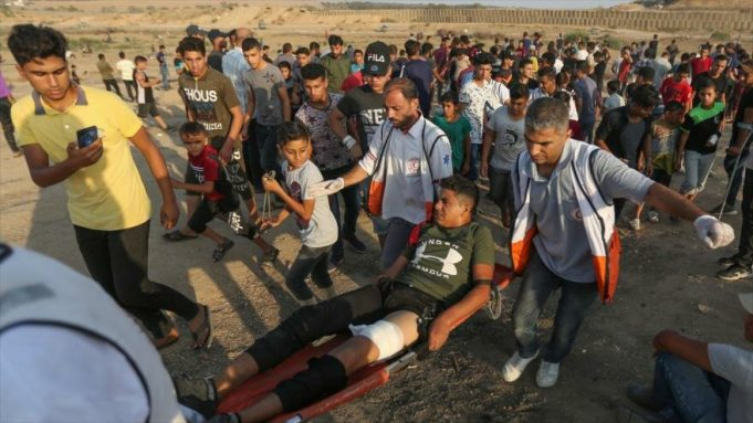 Gaza, Gran Marcha del Retorno, Israel