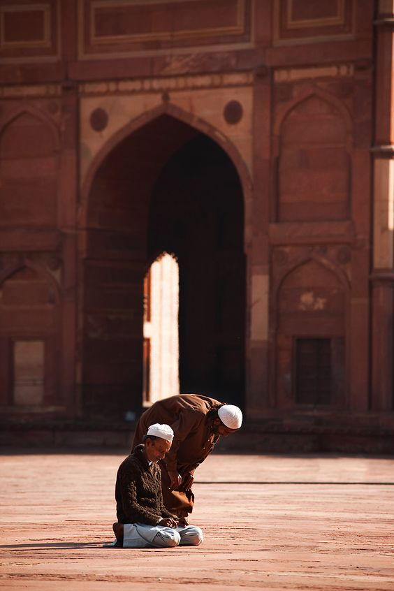 Ayatolá Ali Sistani, oración