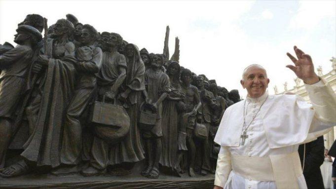 papa Francisco, Migrantes
