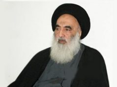 Ayatolá Seyed Ali Sistani, Irak, Daesh