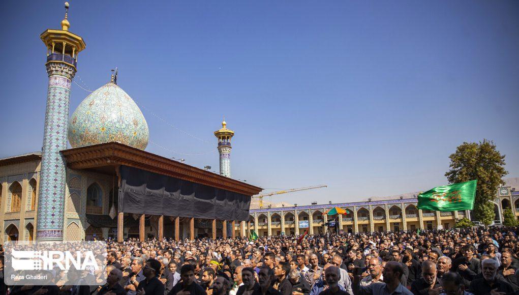 Iran, Imam Husain (A.S), Arba'in