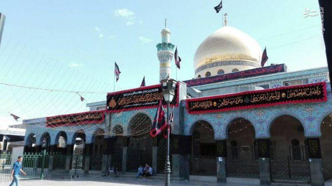 Santuario de la Señora Zainab, Siria, Arba'in , Imam Husain