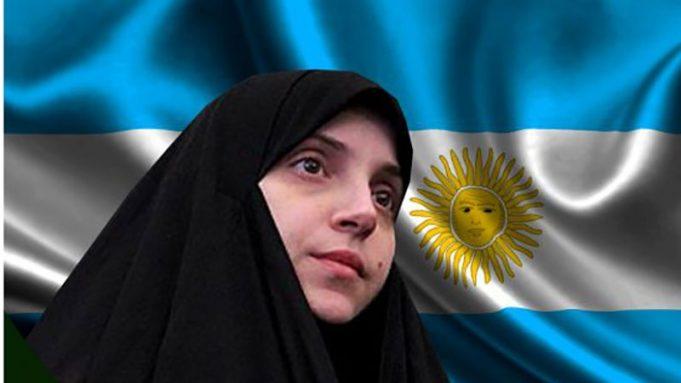 Sofía Castro, Islam, Qom, hiyab