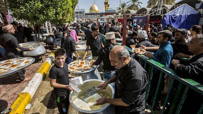 Arba'in, Irak, Karbala, Imam Husain (A.S)