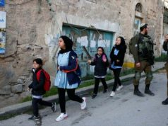 Israel, HRW, Estudiantes palestinos