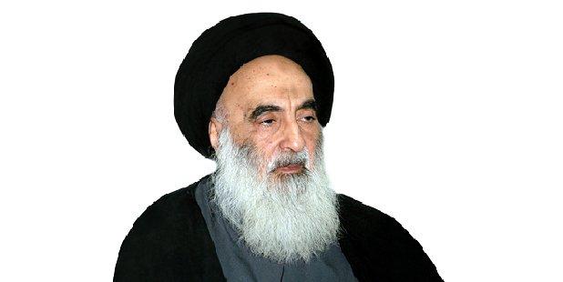 Ayatolá Sayyid Ali Sistani,, Irak