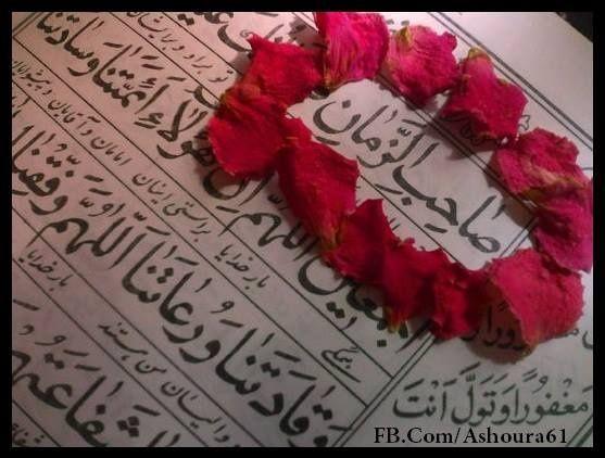 Las manos de la oración del Imam Mahdi (A.S) en Qunut