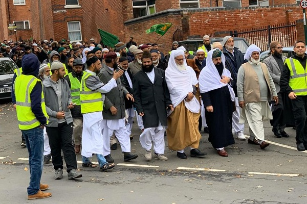 Inglaterra, musulmanes, profeta Muhammad