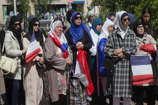 Francia, musulmanes