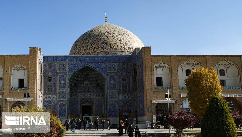 Isfahán: Los periodistas visitan las obras de reconstrucción de la Mezquita Sheij Lotfolah+ Fotos