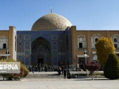 Irán,Isfahán, Mezquita Sheij Lotfolah