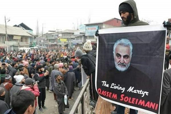 India, Musulmanes, general Soleimani