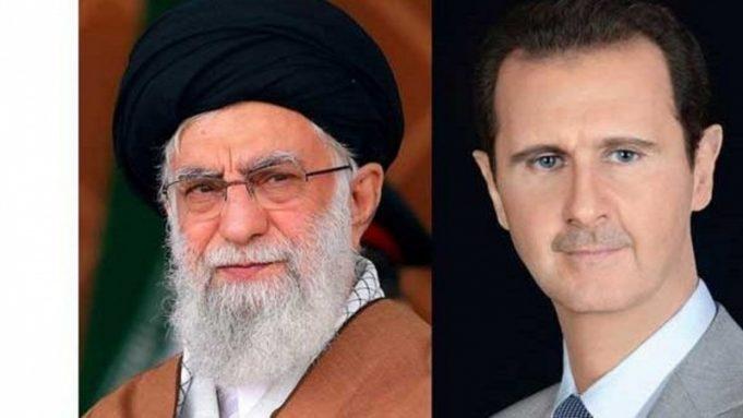 Bashar al-Asad, ayatolá Seyed Ali Jamene, general Qasem Soleimani, EE.UU.