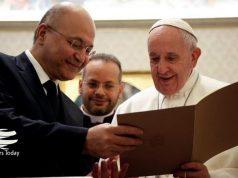Papa Francisco, Barham Salih, Irak