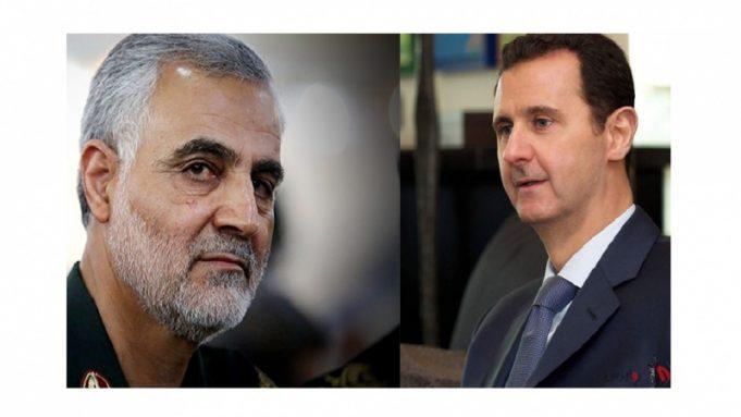 Bashar al-Asad, general Qasem Soleimani, Siria, Daesh