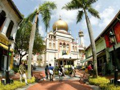 Singapur, Mezquita del Sultán