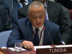 Tariq Adab, Túnez, CSNU, acuerdo del siglo, Al Quds