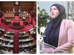 Serbia, Mujer musulmana , velo