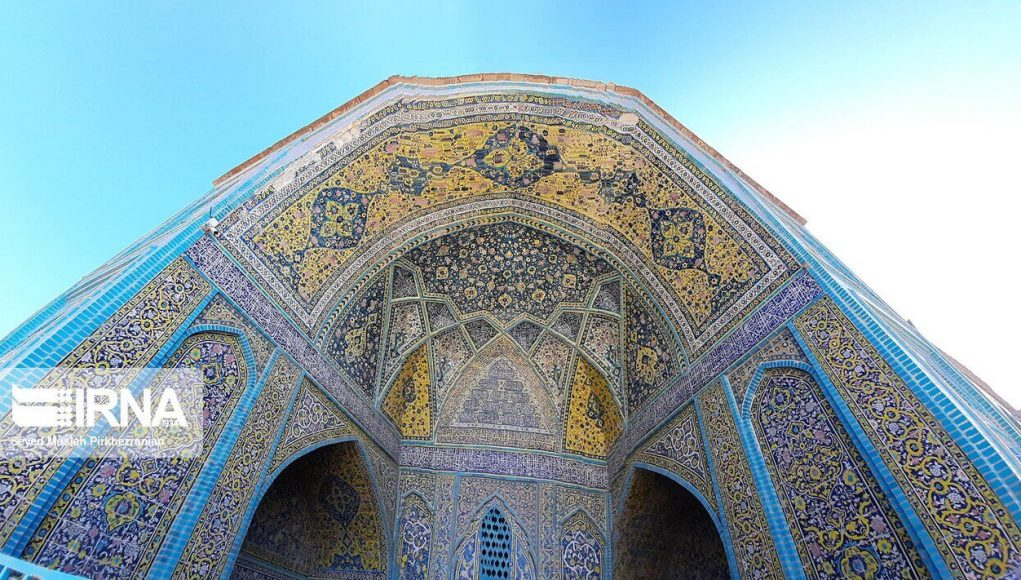 Iran, mezquita de Dar-ol Ehsan