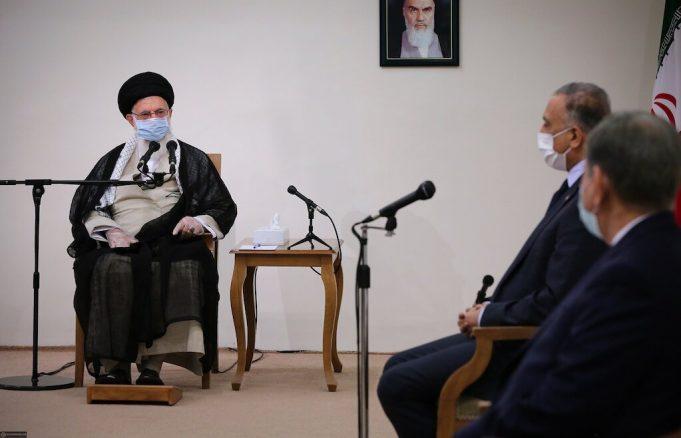 Ayatolá Jameneí, Sr. Mustafa al-Kadhimi, Irak, EE. UU.