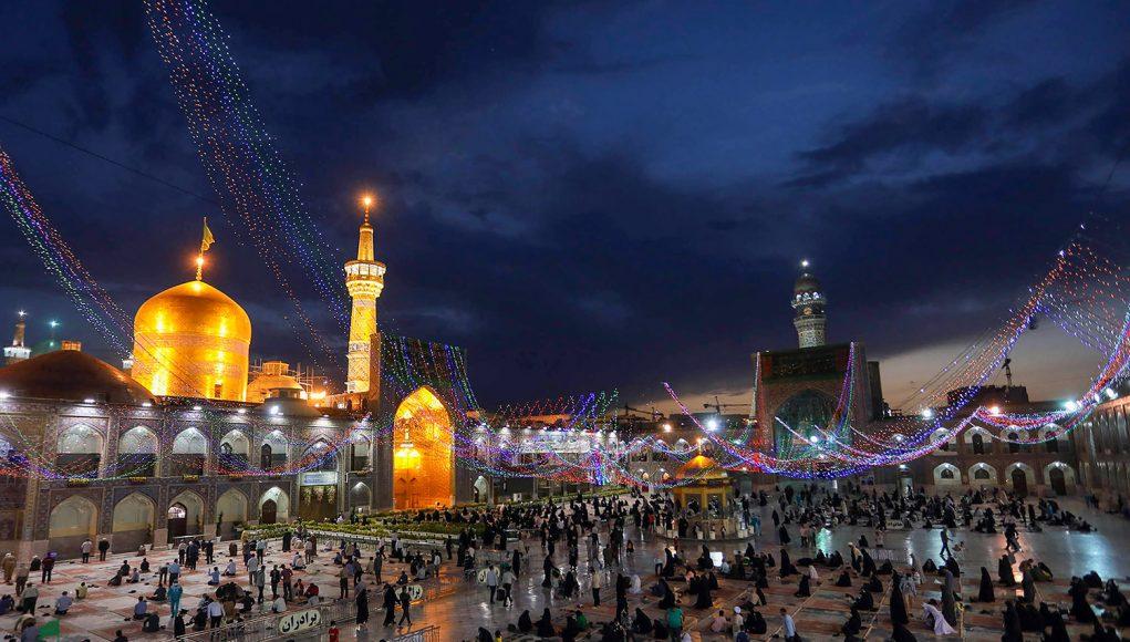 santuario razaví, Imam Ridha