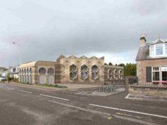 Escocia, mezquita de estilo celta