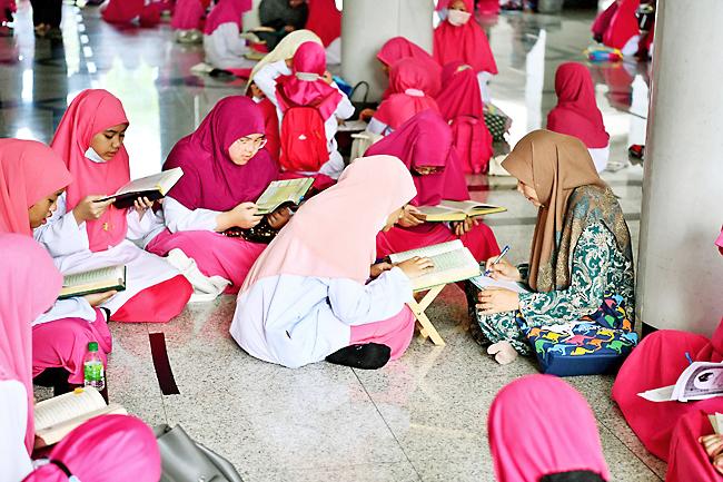 Brunei, lecciones coránicas