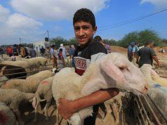 Eid al-Adha, palestinos