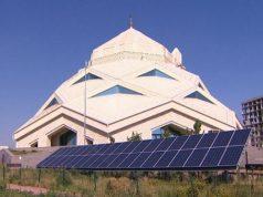 Kazajstán, mezquita ecológica