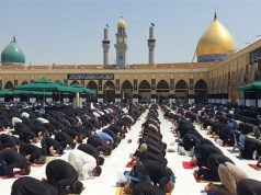 mezquita de Kufa, oración del viernes