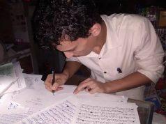 Yemen, Sagrado Corán, caligrafía artística