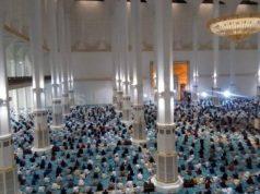 Gran Mezquita de Argel, oración del viernes, Argelia
