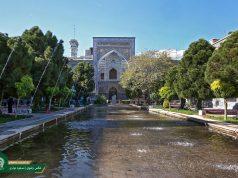 La escuela Mirza Yafar, santuario santo razaví