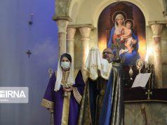 Teherán, Año Nuevo , Iglesia San Sarkis