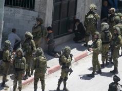 Cisjordania, fuerzas de ocupación israelíes, palestinos