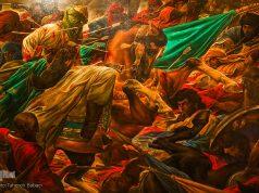 Exposición de pinturas , profeta (P), Imam Ali (A.S),