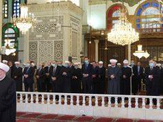 Siria, Bashar Al-Assad Eid Al-Fitr , Gran Mezquita de Damasco